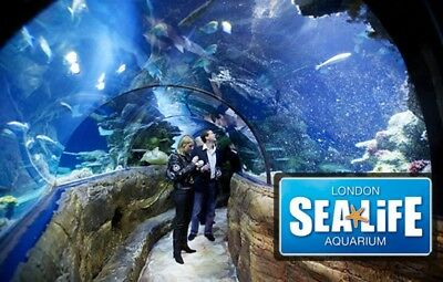 SEALIFE LONDON AQUARIUM TICKETS FOR 6 ADULTS & 2 CHILDREN - Open date/time!
