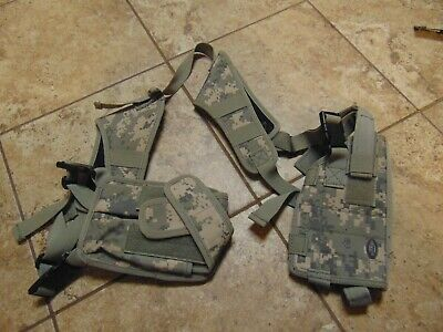 Genuine Us Military Issue Army Acu Digital Holster Harness And Holder For Pistol