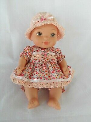 Handmade dolls clothes (Dress, pants, hat set), to fit 26.5cm (10.5 inch) doll
