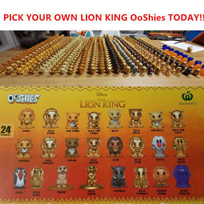 Woolworths Disney Lion King OOSHIES Individual Sales - Woolis Collectible Toys