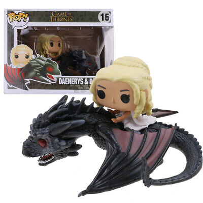 Funko Pop! Rides: Game Of Thrones Dragon & Daenerys Vinyl Action Figure IN BOX