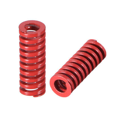 8mm OD 20mm Long Spiral Stamping Middle Load Compression Mould Die Spring 10Pcs