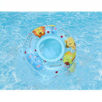 Baby Kids Swimming Ring Inflatable Infant Float Swim Pool Water Seat Safety LG