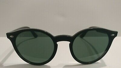 758966a9ce Authentic Ray-Ban Blaze Round Sunglasses RB 4380 N 601 71 Black 145mm 3N