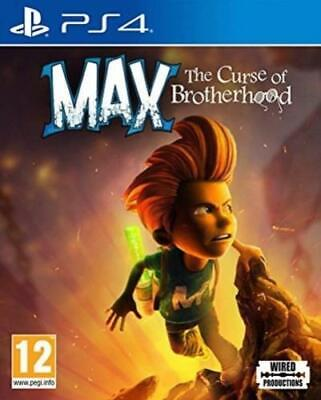 Max: The Curse of Brotherhood (PS4) PEGI 12+ Adventure FREE Shipping, Save £s
