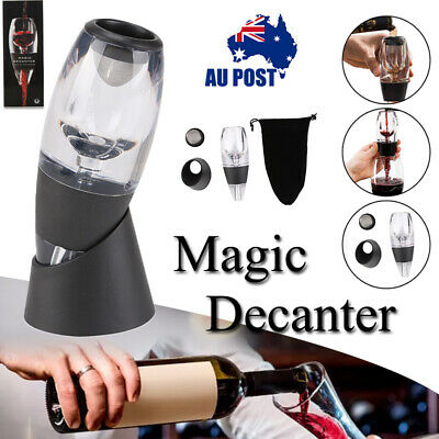 Mini Red Wine Magic Decanter Essential Quick Aerator Hopper Sediment Filter Gift