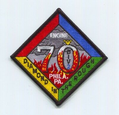 Philadelphia Fire Department Engine 70 Division 2 Patch Pennsylvania PA