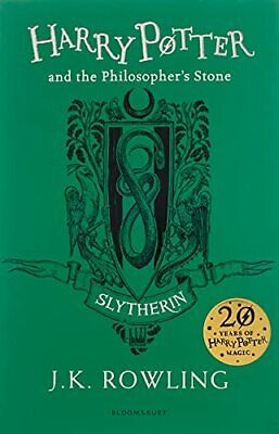 Harry Potter and the Philosopher's Stone - Slytherin Edition by Rowling, J.K.