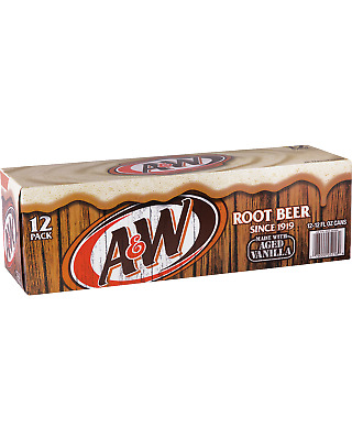 A & W  Other Drinks 355mL case of 24