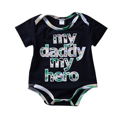 Newborn Infant Baby Boy Girl Romper Jumpsuit Cotton Bodysuit Clothes Outfit 0-2Y