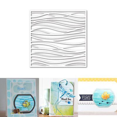 Plastic Embossing Folder Template Die Cutting Scrapbooking Album Card Crafts DIY