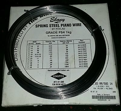 3x Spring Steel Piano wire 2mm for Industrial Games Toys Crafts Sculptures