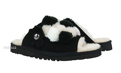 aed130a8bb6 $119 UGG SLIPPERS w/ shearling and Pom Pom light pink 10 - $39.99 ...