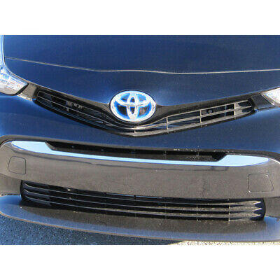 1pc. Luxury FX Stainless Steel Grille Accent Trim for 2012-2017 Toyota Prius V