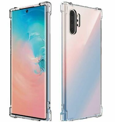 Samsung Galaxy S10+ S10 S10e S8 + Note 9 S Case Shockproof TOUGH Gel Clear Cover
