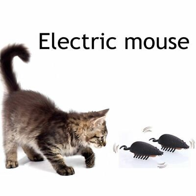 Battery Powered Mouse Shape Cats Toy Mice Fun Cat Toys Electric Fast Moving Toys