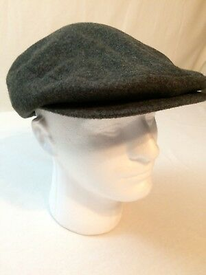 2d659ad83 LONDON FOG MENS Newsboy Cabbie Paperboy Cap Hat Medium Brown ...
