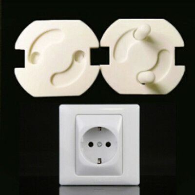10X Baby Rotate Cover 2 Hole Round  Against Electric Protect Socket B