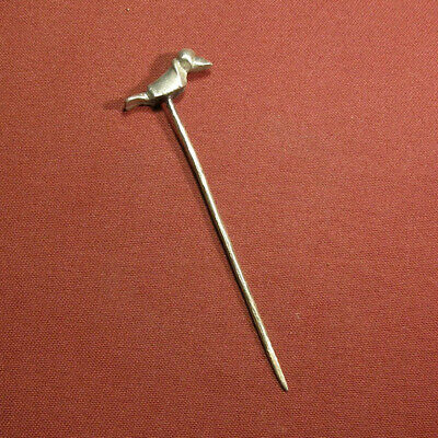 Celtic silver hairpin