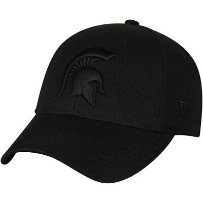 cheap for discount 3cf92 23ebb Top of the World Michigan State Spartans Black NCAA Dynasty Memory Fit  Fitted
