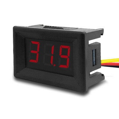 "0.36"" Mini Red LED 3-Digital Display Volt Voltage Voltmeter Panel Accurate Meter"