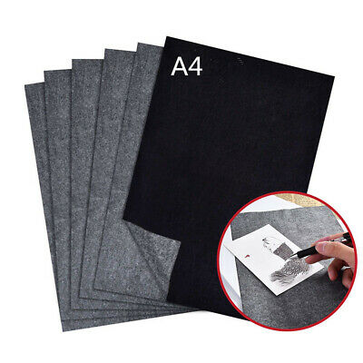 25PCS Carbon Thermal Transfer Paper Tattoo Stencil Copy Tracing Paper A4 Size