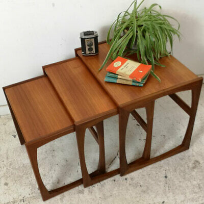 Vintage Mid Century G Plan Teak Nest of Tables
