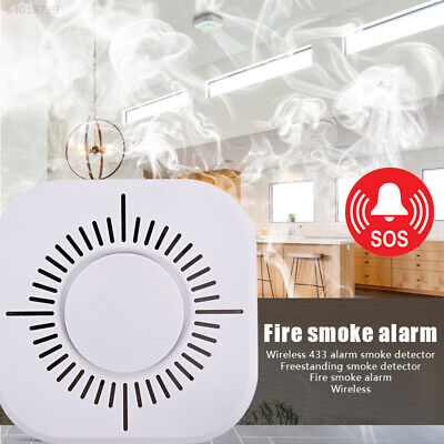 C5DA Smoke Alarm Detector 360 Degrees Voice Warning Universal High Sensitive