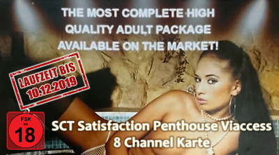 SCT Satisfaction Penthouse 8 Channel Karte FSK18 - Freigeschaltet bis 18.01.2020