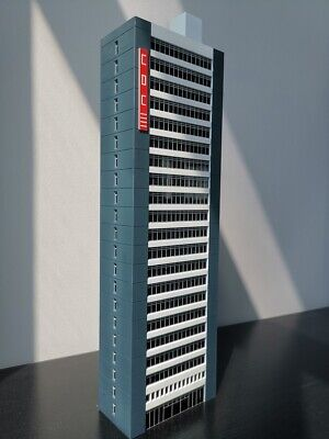 27 INCH N Scale High Rise//Office Building Based Off Prudential Skyscraper Boston