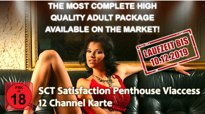 SCT Satisfaction Penthouse 12 Channel Karte FSK18 - Freigeschaltet bis 10.12.19