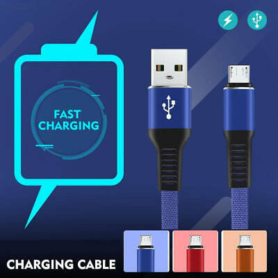 Heavyduty Braided Charge Micro USB / USB C Type C Data Phone Charger Cable Lead