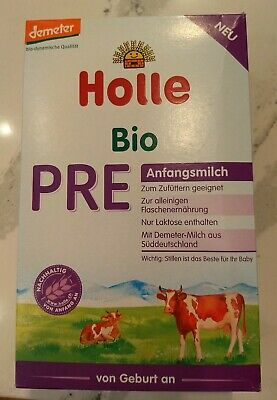 Holle Stage Pre Organic Baby Formula, 0-6 months, 400g 7/2019