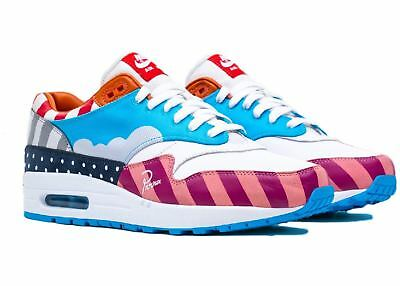 Nike air max 1 PARRA FRIENDS & FAMILY 10.5US F&F Cherrywood 97 Sean Wotherspoon