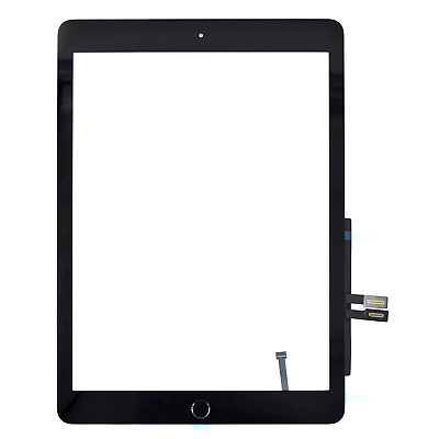 """For Apple iPad 6 2018 Digitizer Black Touch Screen Glass 9.7"""" A1893 A1953 A1954"""