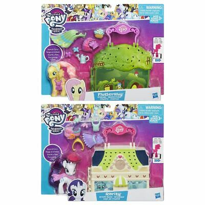 New My Little Pony Rarity Dress Shop Or Fluttershy Cottage Playset MLP Official