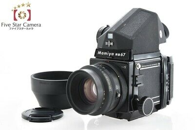 VERY GOOD!! MAMIYA RB67 PRO S + K/L 127mm f/3 5 L + Prism Viewinder from  Japan