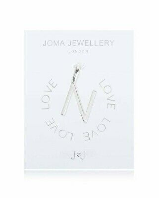 Joma Jewellery Silver Alphabet Letter Monogram Charms