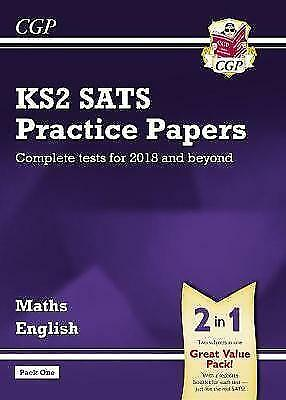 KS2 Maths and English SATS Practice Papers Pack (for the tests in 2018 and beyon