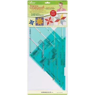 Clover Trace N Create Quilts Template By Nancy Zieman Lone Star Collection