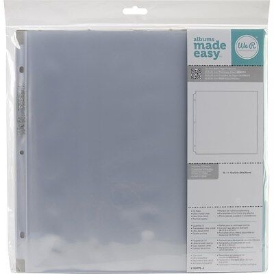 Lot Of 5 Pkgs. We R Memory Keepers Album Refill Pages For 3 Ring Binders