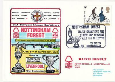 Dawn Football Event Cover (802) - Nottingham Forest v Liverpool