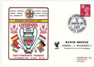 Dawn Football Event Cover (803) - Liverpool v Nottingham Forest