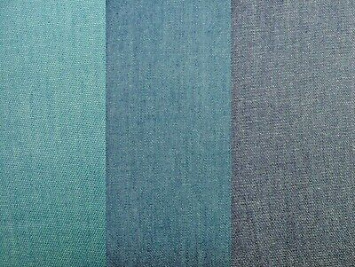 4oz Washed Denim Fabric 100% Cotton For Clothing Jeans Crafts Patchwork Cushions