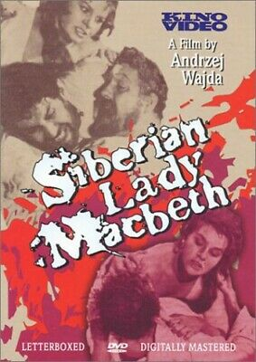 Siberian Lady Macbeth (REGION 0 DVD New) WS/CRO LNG/ENG SUB