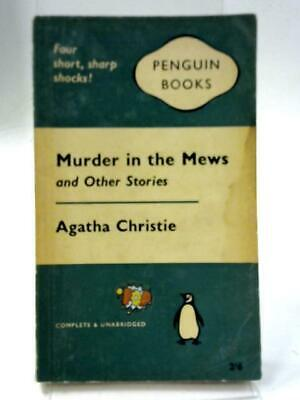 Murder in the Mews and Other Stories. (Agatha Christie - 1961) (ID:99255)