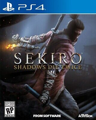 SEKIRO SHADOWS DIE TWICE PS4 Ed.española
