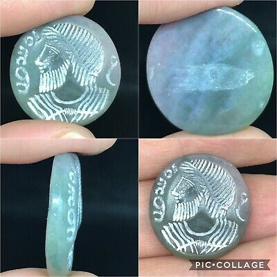 wonderful rare ancient medieval agate stone intaglio for ring