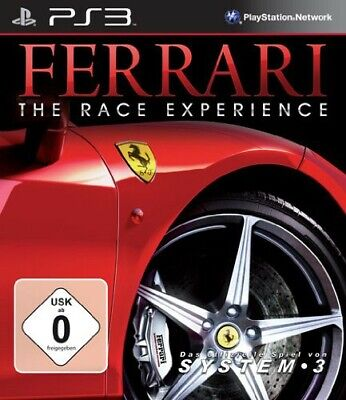 PS3 / Sony Playstation 3 Spiel - Ferrari: The Race Experience DEUTSCH mit OVP