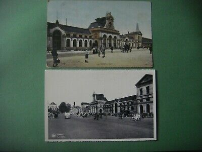 Lot de 3 jolies cartes de NAMUR ( Gare Station )